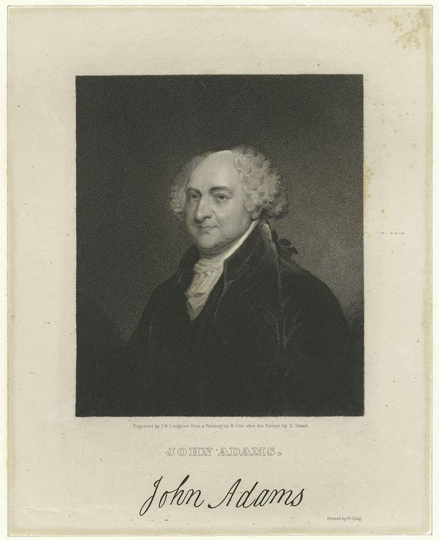 Fascinating Historical Picture of John Adams in 1775