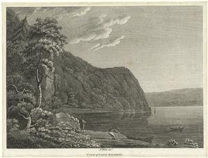 View of Cape Diamond [Quebec] / Isaac Weld