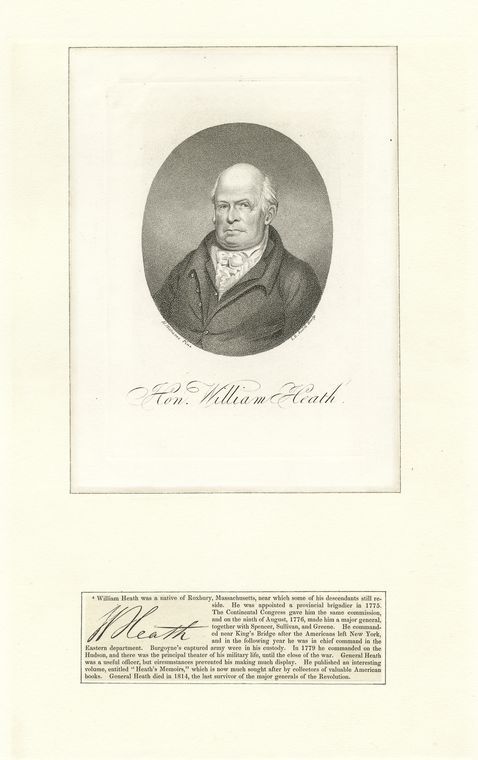 Fascinating Historical Picture of William Heath in 1760