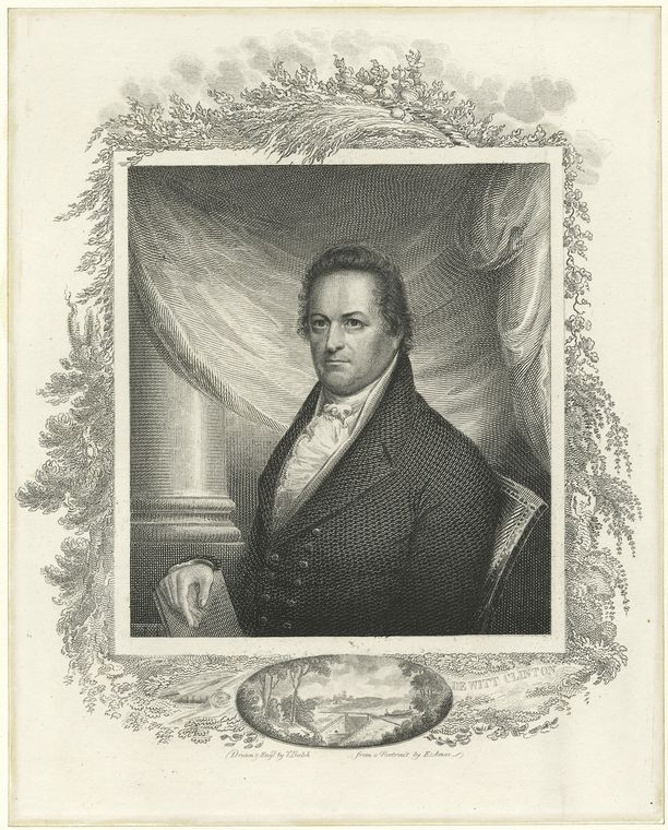 Fascinating Historical Picture of DeWitt Clinton in 1760
