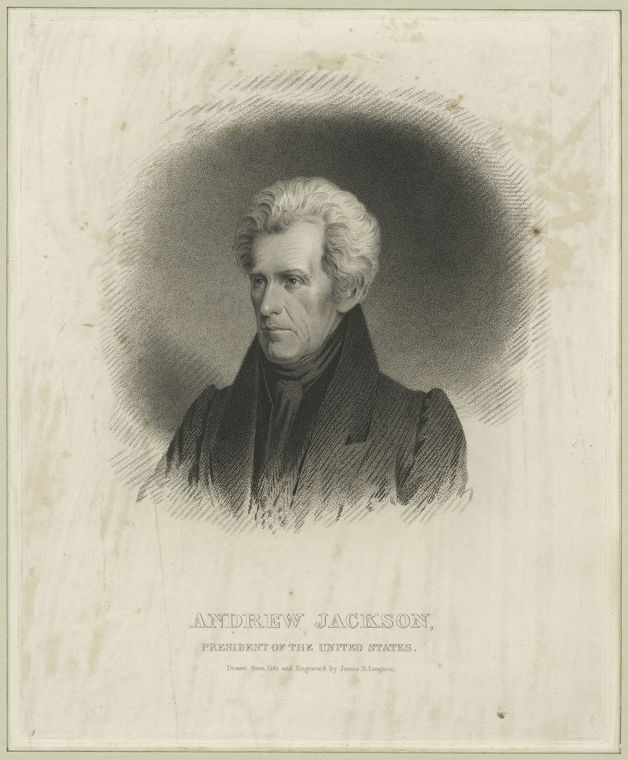 Fascinating Historical Picture of Andrew Jackson in 1810