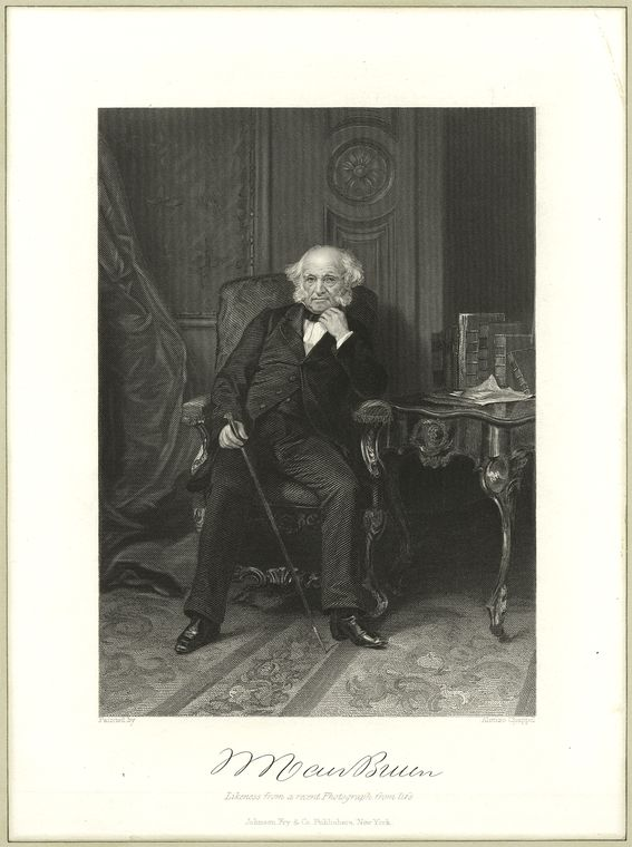 This is What Martin Van Buren Looked Like  in 1810