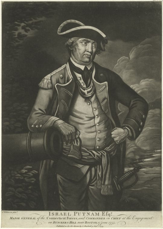 This is What Israel Putnam Looked Like  in 1775