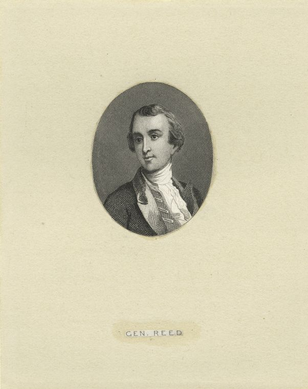 Fascinating Historical Picture of Joseph Reed in 1775
