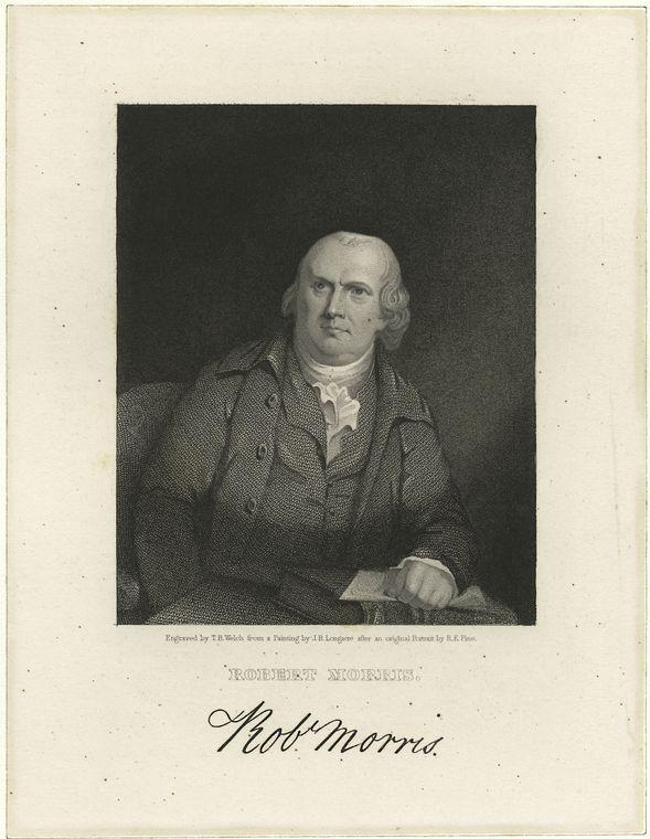 Fascinating Historical Picture of Robert Morris in 1775