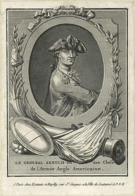 Fascinating Historical Picture of Benedict Arnold in 1775