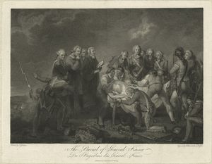 The burial of General Fraser / Bahrenstecher & Kessler