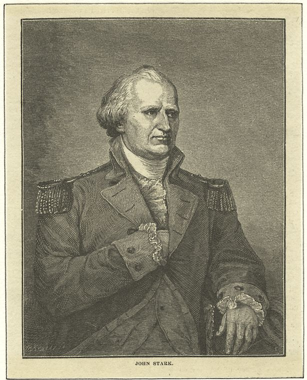 Fascinating Historical Picture of John Stark in 1776