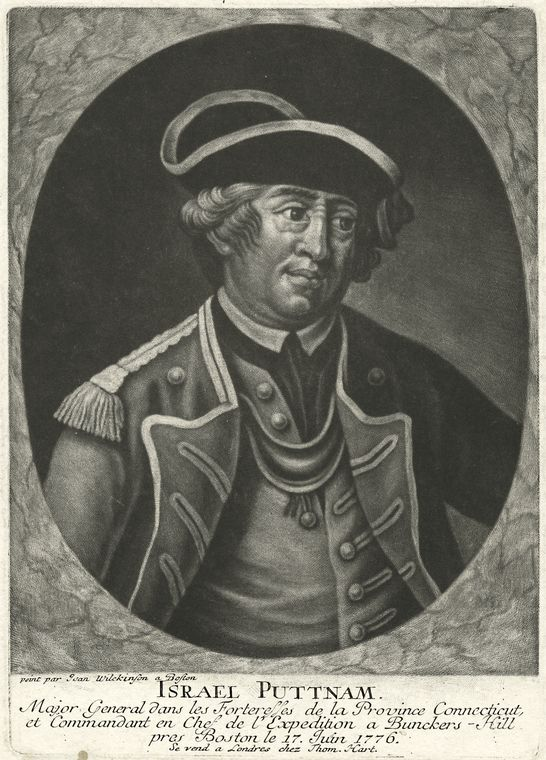 Fascinating Historical Picture of Israel Putnam in 1776