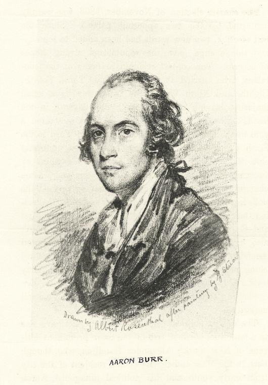 Portrait of Aaron Burr