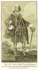The Rt. Honble. the Earl of Loudon