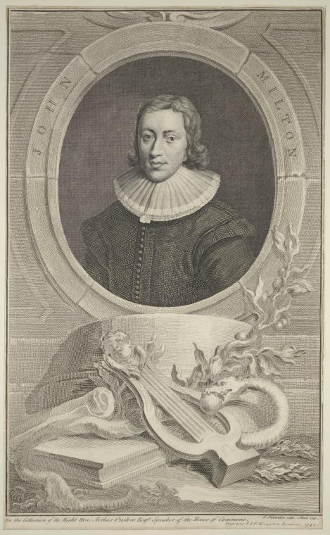 Fascinating Historical Picture of Jacobus Houbraken in 1741