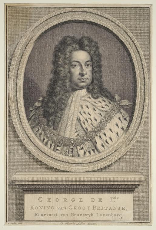Fascinating Historical Picture of Jacobus Houbraken in 1752