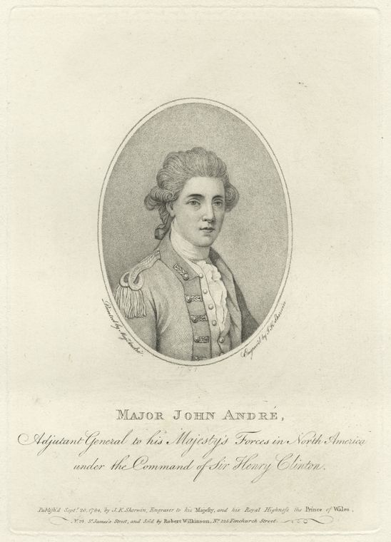 Fascinating Historical Picture of John Andre in 1778