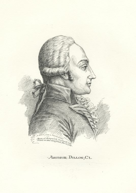 Fascinating Historical Picture of Arthur Dillon in 1778