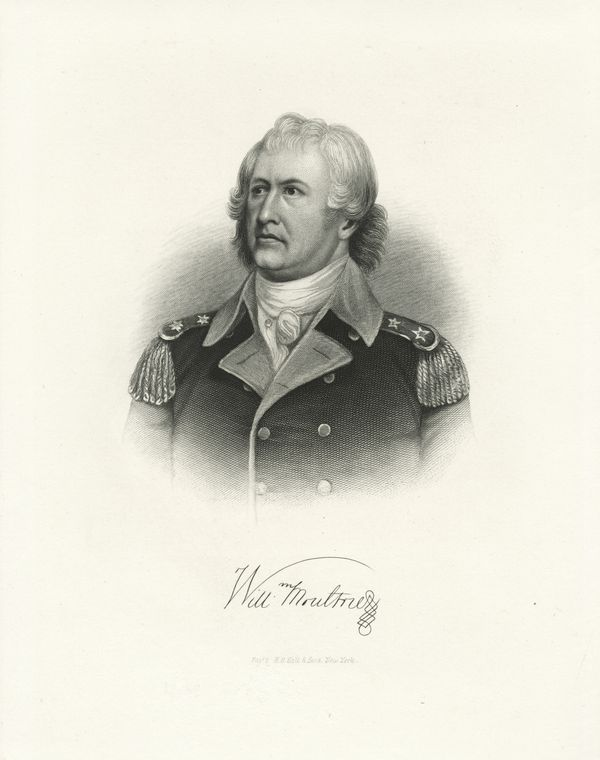 Fascinating Historical Picture of William Moultrie in 1778