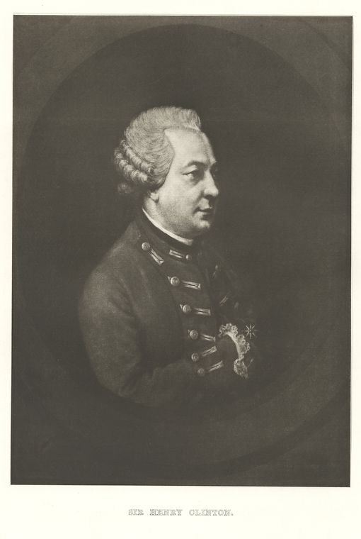 Fascinating Historical Picture of Henry Clinton in 1778