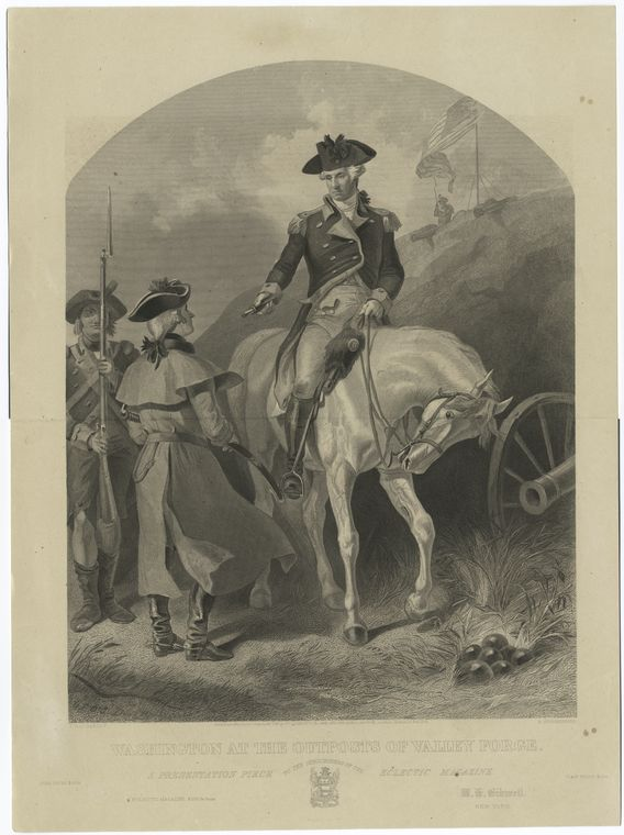 Fascinating Historical Picture of George Washington in 1775