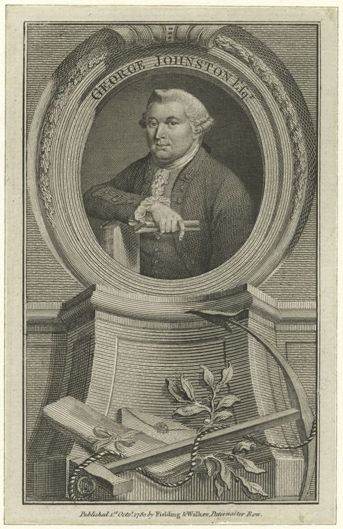 This is What George Johnston Looked Like  in 1775