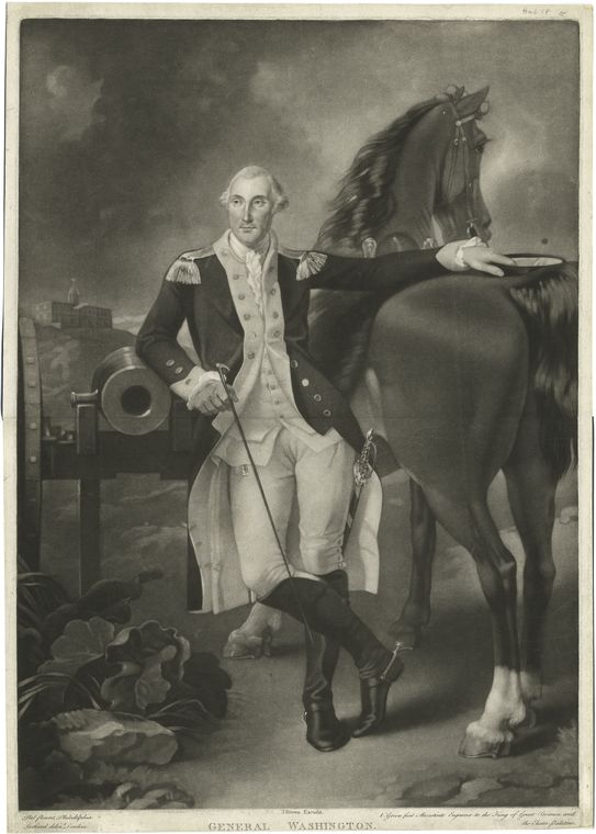 This is What George Washington Looked Like  in 1775