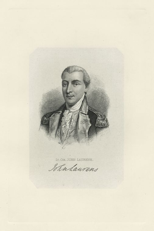 Fascinating Historical Picture of John Laurens in 1775