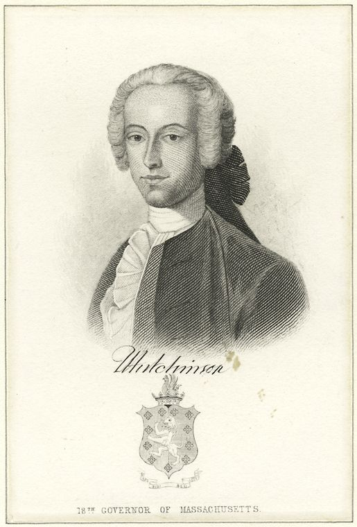 Fascinating Historical Picture of Thomas Hutchinson in 1760