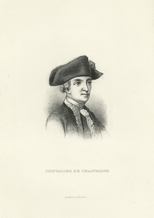 Fascinating Historical Picture of Francois Jean Chastellux in 1760