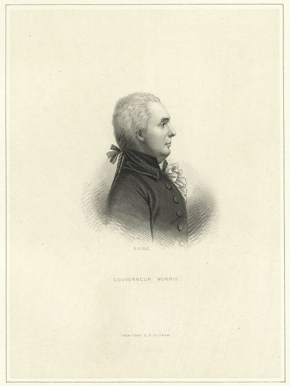 Fascinating Historical Picture of Gouverneur Morris in 1760