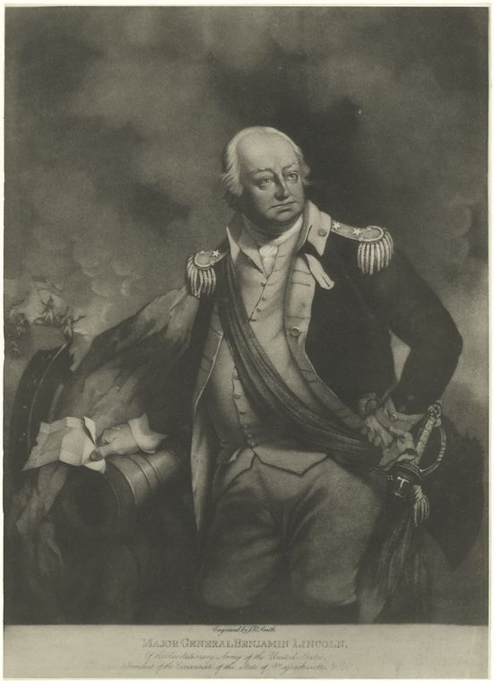 Fascinating Historical Picture of Benjamin Lincoln in 1760