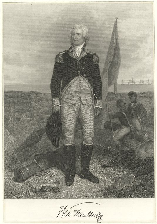 Fascinating Historical Picture of William Moultrie in 1760