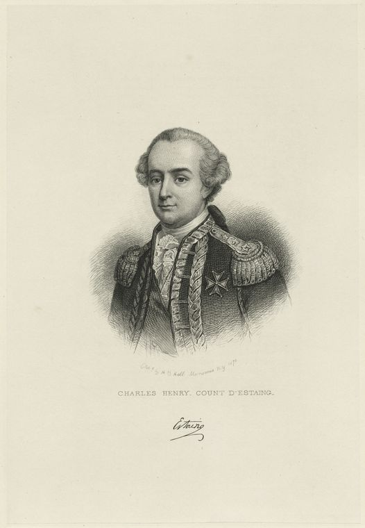 Fascinating Historical Picture of Charles Henri Estaing in 1760