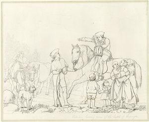[Putnam hearing news of the battle of Lexington.]