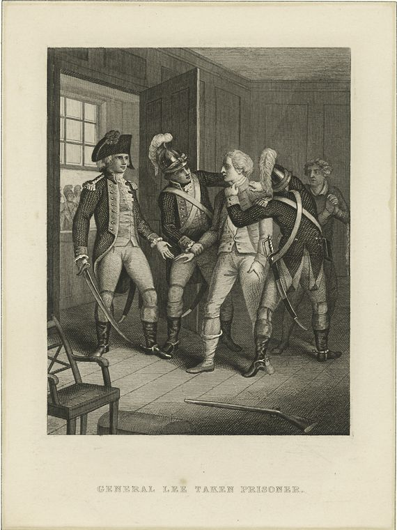 Fascinating Historical Picture of Charles Lee in 1760