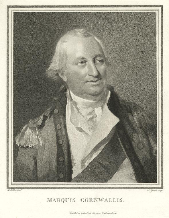 This is What Charles Cornwallis Cornwallis Looked Like  in 1775