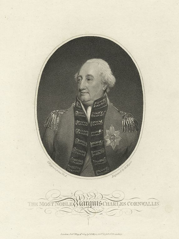 Fascinating Historical Picture of Charles Cornwallis Cornwallis in 1804
