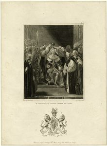 The coronation of His Majesty George the Third.