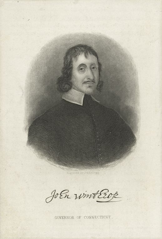 John Winthrop Governor of Connecticut / J.G. Kellogg