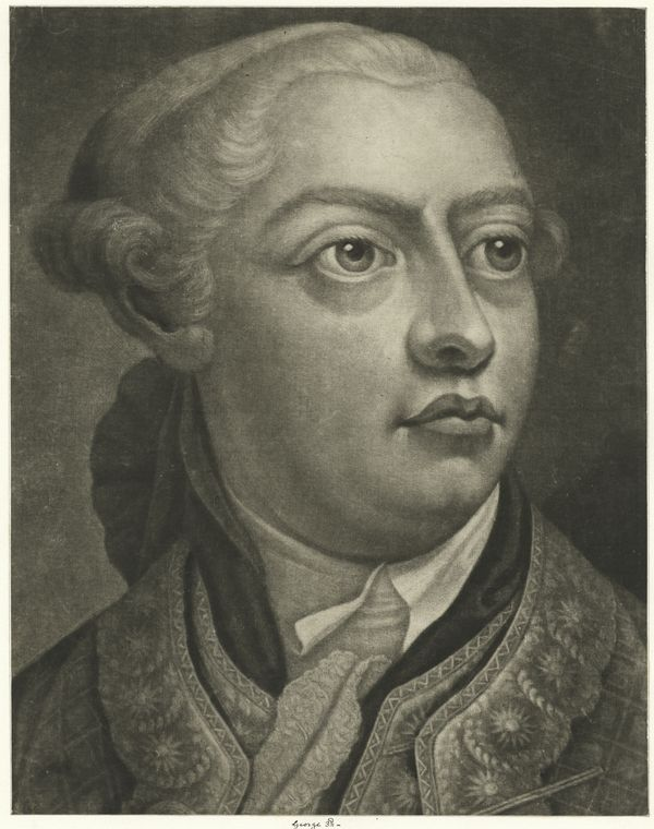 This is What King of Great Britain George III Looked Like  on 1/1789