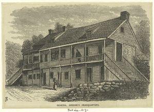 General Greene's Headquarters