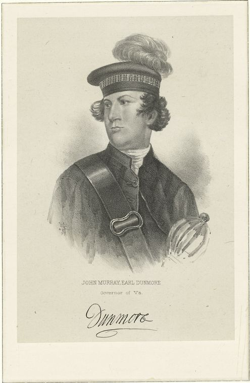 Fascinating Historical Picture of John Murray Dunmore in 1760