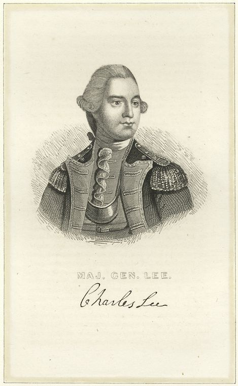 Fascinating Historical Picture of Charles Lee in 1775