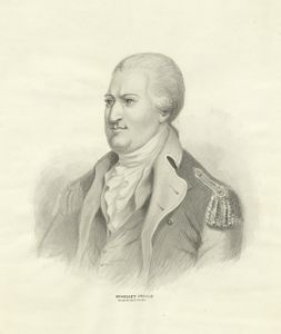 Benedict Arnold from an old print