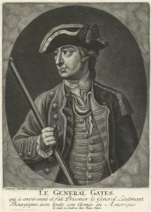 Le general Gates qui a environne et fait prisonier le general lieutenant Bourgogne avec toute son armee en Amerique