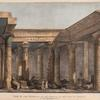 View of the interior of the temple in the Isle of Philoe [Philae].