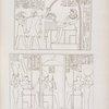 Palazzo di Gurnah: Rappresentanze di onori funebri resi al re Menphtah I.