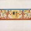 Frontespizio consueto delle tombe reali, tolto da quella di Ramses XI a Biban-el-Moluk [Biban el-Muluk].
