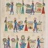 Offerta dei Nili e delle Regioni : quadri tratti dalla tomba di Ramses Meiamun a Biban-el-Moluk.
