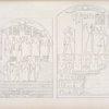 Il medesimo Menphtah II viene ad offerire con la moglie e coi figli, ad Amon-rê ed a Phtah [Ptah]; a Phrê [Ra] e a Tme. - Ramses III, con un figlio, offre a Phtah e a Sevek [Sobek].