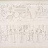 Seguito e fine dei quadri mistici del tempio di Erment, e significanti la nascita e l'educazione del divino fanciullo Phrêto.