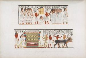 Accompagnamento di una mummia ... Digital ID: 425469. New York Public Library